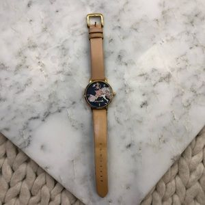 kate spade Accessories - Kate Spade Going Places World Map Leather Watch